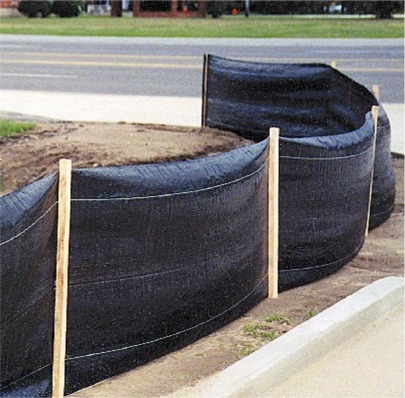 Resinet SLT36100 silt fence